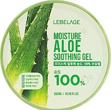 Düfte, Parfümerie und Kosmetik Beruhigendes und feuchtigkeitsspendendes Gesichts- und Körpergel mit 100% Aloe Vera - Lebelage Moisture Aloe 100% Soothing Gel