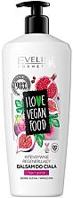 Düfte, Parfümerie und Kosmetik Regenerierender Körperbalsam mit Feige und Granatapfel - Eveline I Love Vegan Food Body Balm