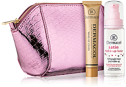 Düfte, Parfümerie und Kosmetik Set - Dermacol (foundation/30g + makeup/base/30ml + bag)