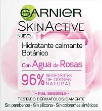Düfte, Parfümerie und Kosmetik Feuchtigkeitsspendende und beruhigende Gesichtscreme mit Rosenwasser - Garnier Skin Active Botanic Soothing Moisturizing Cream
