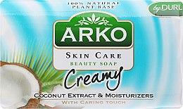 Düfte, Parfümerie und Kosmetik Parfümierte Körperseife - Arko Beauty Soap Creamy Coconut & Cream