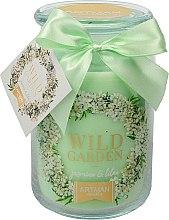 Düfte, Parfümerie und Kosmetik Duftkerze im Glas Jasmin & Flieder - Artman Wild Garden Jasmin & Lilac Ø10 x H16 cm (700 g)
