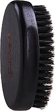 Düfte, Parfümerie und Kosmetik Bartbürste aus Holz mit Wildschweinborsten mittelhart - Beviro Pear Wood Beard Brush