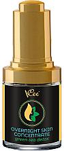 Düfte, Parfümerie und Kosmetik Nachtserum für das Gesicht Grüner Tee - VCee Overnight Skin Concentrate Green Tea Detox