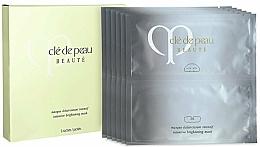 Düfte, Parfümerie und Kosmetik Luxuriöse und aufhellende Tuchmaske für strahlende Gesichtshaut - Cle De Peau Beaute Intensive Brightening Mask