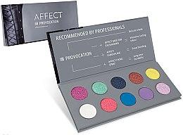 Düfte, Parfümerie und Kosmetik Lidschattenpalette - Affect Cosmetics Provocation Eyeshadow Palette