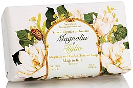 Düfte, Parfümerie und Kosmetik Naturseife Magnolia & Linden - Saponificio Artigianale Fiorentino Magnolia&Linden Soap