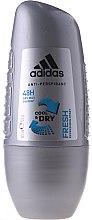 Düfte, Parfümerie und Kosmetik Roll-on Antiperspirant Deodorant - Adidas Anti-Perspirant Fresh Cool Dry 48h