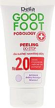 Düfte, Parfümerie und Kosmetik Fußpeeling für trockene und raue Haut - Delia Cosmetics Good Foot Podology Nr 2.0