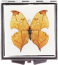 Düfte, Parfümerie und Kosmetik Kosmetischer Taschenspiegel 85420 Schmetterling hellbraun - Top Choice