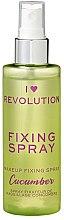 Düfte, Parfümerie und Kosmetik Make-up-Fixierer - Makeup Revolution Fixing Spray Cucumber