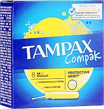 Düfte, Parfümerie und Kosmetik Tampons mit Applikator Regular 8 St. - Tampax Compak Regular