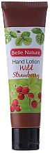 Düfte, Parfümerie und Kosmetik Handlotion mit Wald-Erdbeere - Belle Nature Hand Lotion Wild Strawberry