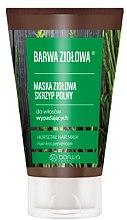 Düfte, Parfümerie und Kosmetik Maske gegen Haarausfall mit Schachtelhalm-Extrakt - Barwa Color Herbal Mask