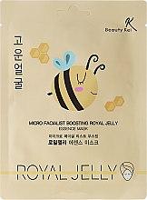 Düfte, Parfümerie und Kosmetik Pflegende und aufhellende Tuchmaske mit Honig - Beauty Kei Micro Facialist Boosting Royal Jelly Essence Mask