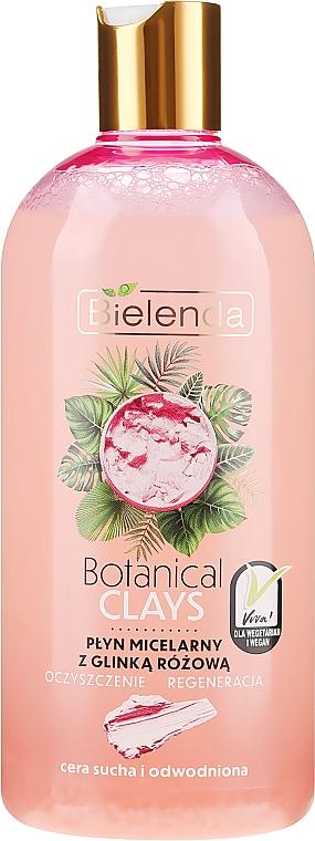 Mizellenwasser mit rosa Tonerde - Bielenda Clays
