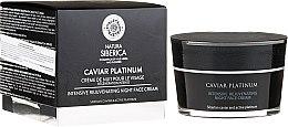 Düfte, Parfümerie und Kosmetik Intensiv regenerierende Nachtcreme - Natura Siberica Caviar Platinum Intensive Rejuvenating Night Face Cream