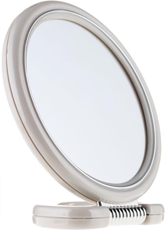 Doppelseitiger Standspiegel 15 cm grau - Donegal Mirror — Bild N1