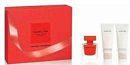Düfte, Parfümerie und Kosmetik Narciso Rodriguez Narciso Rouge - Duftset (Eau de Parfum 50ml + Körperlotion 75ml + Duschgel 75ml)