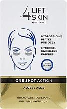 Düfte, Parfümerie und Kosmetik Augenpatches mit Aloe Vera - Lift4Skin Hydrogel Under-Eye Patches Aloe