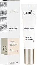 Düfte, Parfümerie und Kosmetik Geschmeidige Augencreme für sehr empfindliche und zu Rötungen neigende Augenpartie - Babor Skinovage Calming Eye Cream
