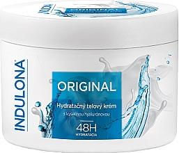 Düfte, Parfümerie und Kosmetik Feuchtigkeitsspendende Körpercreme mit Hyaluronsäure - Indulona Original Hydrating Body Cream