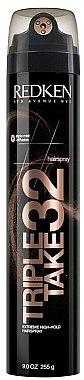 Haarspray Extrem starker Halt - Redken 32 Triple Take — Bild N1