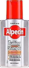 Düfte, Parfümerie und Kosmetik Kräftigendes und farbschützendes Shampoo mit Koffein-Komplex gegen Haarausfall für dunkelblondes bis schwarzes Haar - Alpecin Anti Dandruff Tuning Shampoo
