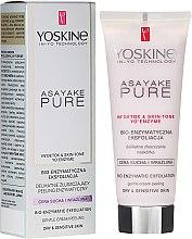 Düfte, Parfümerie und Kosmetik Enzym-Gesichtspeeling für trockene und empfindliche Haut - Yoskine Asayake Pure Bio Enzym Peeling