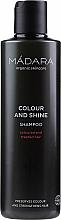 Düfte, Parfümerie und Kosmetik Shampoo für gefärbtes und chemisch behandeltes Haar - Madara Cosmetics Colour & Shine Shampoo