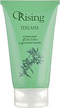 Düfte, Parfümerie und Kosmetik Feuchtigkeitsspendende Handcreme mit Olivenöl und Meeresalgenextrakten - Orising Toscana Hand Cream