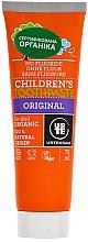 Düfte, Parfümerie und Kosmetik Organische fluoridfreie Kinderzahnpasta mit köstlichem Lakritz-Geschmack - Urtekram Childrens Toothpaste Original