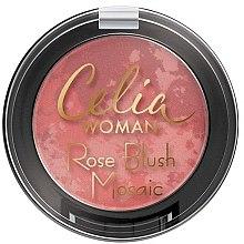 Düfte, Parfümerie und Kosmetik Gesichtsrouge - Celia Woman Rose Blush Mosaic