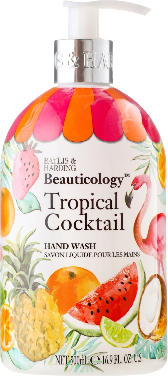 """Flüssige Handseife """"Schöllkraut"""" - Baylis & Harding Beauticology Tropical Cocktail Hand Wash"""