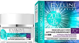 Düfte, Parfümerie und Kosmetik Regenerierende Gesichtscreme - Eveline Cosmetics Hyaluron Clinic 70+