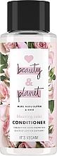 Düfte, Parfümerie und Kosmetik Conditioner mit Murumuru-Butter und Rose für gefärbtes Haar - Love Beauty&Planet Muru Muru Butter & Rose Conditioner