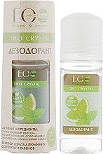 Düfte, Parfümerie und Kosmetik Natürliches Deo mit Zitronen- Orangen- und Limettenextrakt für trockene Haut - ECO Laboratorie Deo Crystal