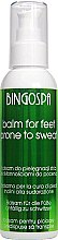 Düfte, Parfümerie und Kosmetik Balsam gegen Schweißfüße - BingoSpa Balm For Feet Prone To Sweat