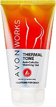 Düfte, Parfümerie und Kosmetik Anti-Cellulite Körpergel - Avon Works Anti-Cellulite Warming Gel