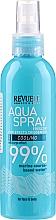 Düfte, Parfümerie und Kosmetik Kühlendes Gesichts- und Körperspray mit Seetang-Extrakt - Revuele Face&Body Revitalizing Aqua Spray
