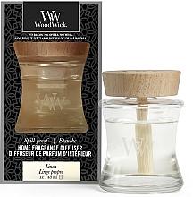 Düfte, Parfümerie und Kosmetik Raum-Diffuser Leinen - Woodwick Home Fragrance Diffuser Linen