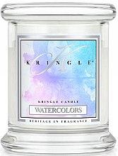 Düfte, Parfümerie und Kosmetik Duftkerze im Glas Watercolors - Kringle Candle Watercolors