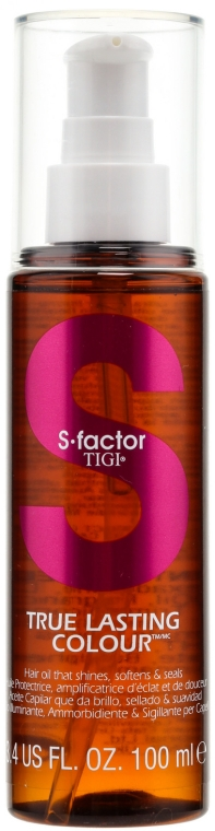 Haaröl - Tigi True Lasting Colour Hair Oil — Bild N1