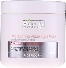 Düfte, Parfümerie und Kosmetik Extra aufweichende Gesichtsmaske mit Algen und Kieselgur - Bielenda Professional Ultra Soothing Algae Fase Mask