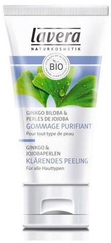 Ginko & Jojoba Perlen Klärendes Peeling - Lavera Gommage Purifiant — Bild N1