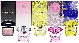 Düfte, Parfümerie und Kosmetik Duftset - Versace Miniatures Collection For Her (Eau de Parfum 2x5ml + Eau de Toilette 3x5ml)