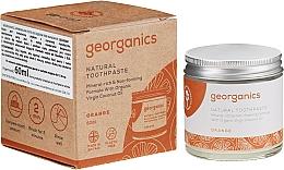 Düfte, Parfümerie und Kosmetik Natürliche Zahnpasta für Kinder mit roter Mandarine - Georganics Red Mandarin Natural Toothpaste