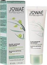 Düfte, Parfümerie und Kosmetik Mattierendes Gesichtsfluid mit antioxidativen Lumiphenolen - Jowae Balancing Matifying Fluid