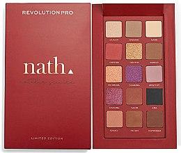 Düfte, Parfümerie und Kosmetik Lidschattenpalette - Makeup Revolution Pro X Nath Eyeshadow Palette