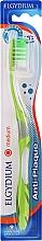 Düfte, Parfümerie und Kosmetik Anti-Plaque Zahnbürste mittel grün-transparent - Elgydium Anti-Plaque Medium Toothbrush